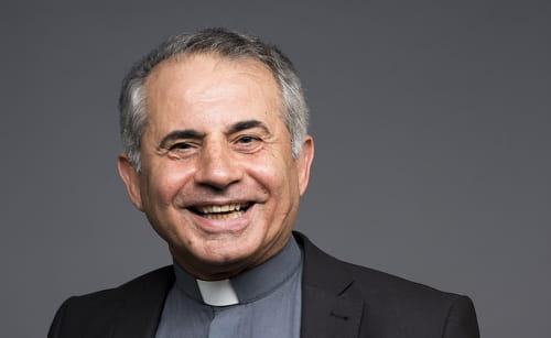 Père Michaeel Najeeb. Extrait de : Sauver les livres et les hommes