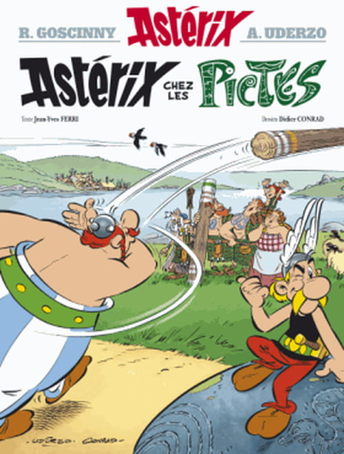 Astérix chez les Pictes : Plaintecontrix !
