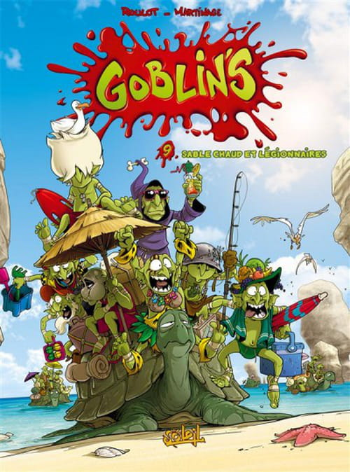 Goblin's tome 9 : Sable chaud et légionnaires
