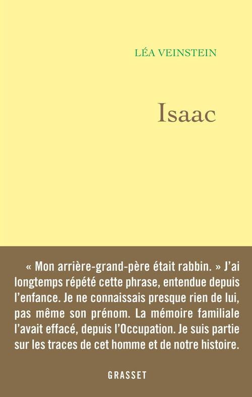 Isaac de Léa Veinstein : Mon grand-oncle, ce héros ?