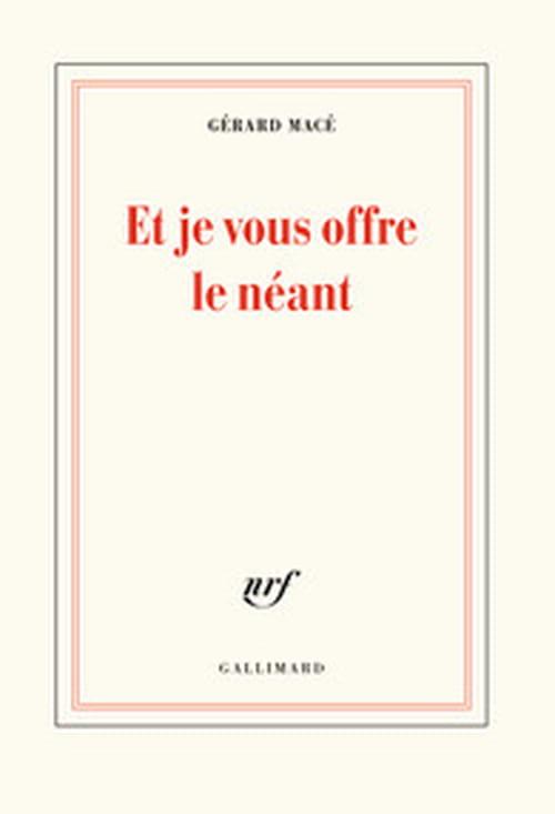 Gérard Macé lecteur de Sade