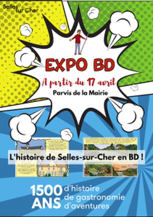 500 ans de Selles-sur-Cher en bande dessinée