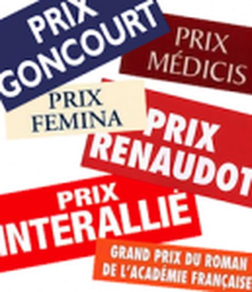Première sélection du Grand Prix du Roman 2012 de l'Académie française