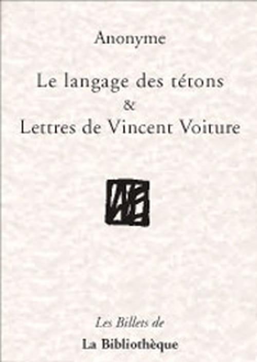 """""""Le langage des tétons"""", premier roman épistolaire et courtois quoiqu'osé !"""