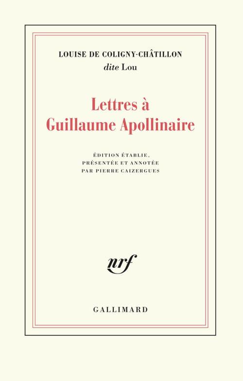 Quand Lou écrivait à Guillaume Apollinaire
