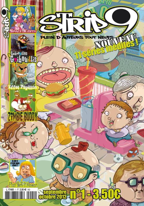 """Strip9, """"Plein d'auteurs tout neufs !"""" : lancement officiel d'un nouveau magazine BD et rencontre avec son créateur (1/2)"""