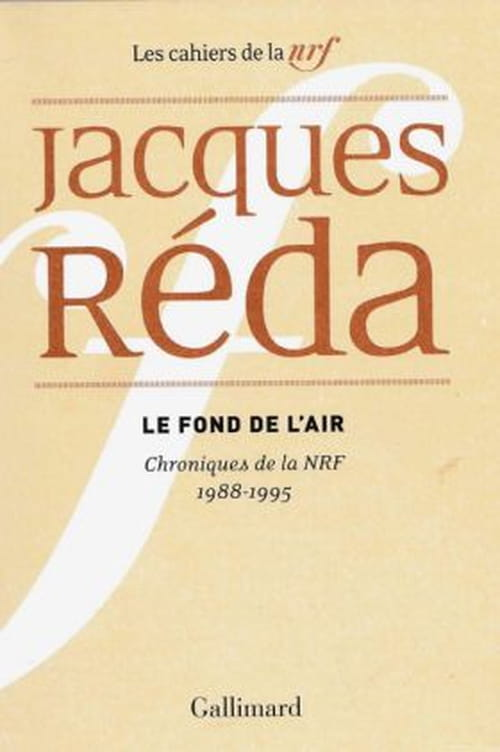 Jacques Réda : un air de déjà lu
