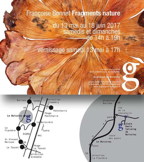 Françoise Bonnet: empreintes et espaces premiers
