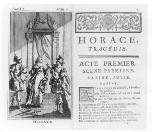 Horace de Corneille : Résumé