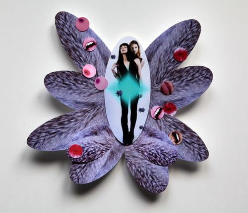 Txiki Margalef et les amazones: flower power