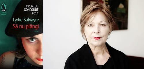 Événement littéraire à Bucarest: entretien avec Lydie Salvayre à l'occasion de la parution en roumain de son roman «Pas pleurer»