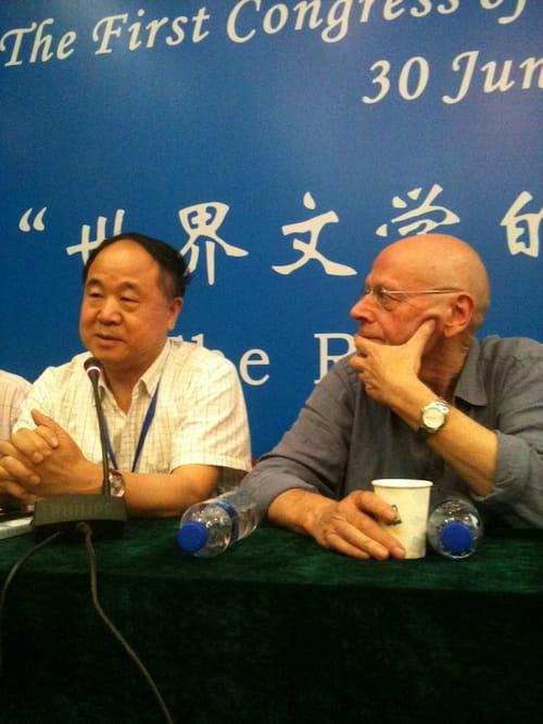 Mo Yan, prix Nobel 2012 de littérature