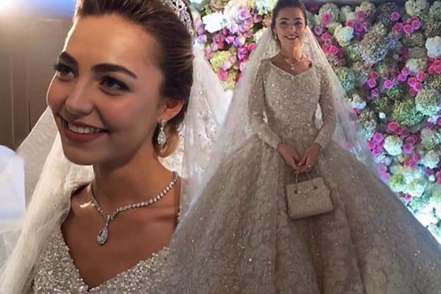 زفاف أسطوري لنجل ملياردير روسي
