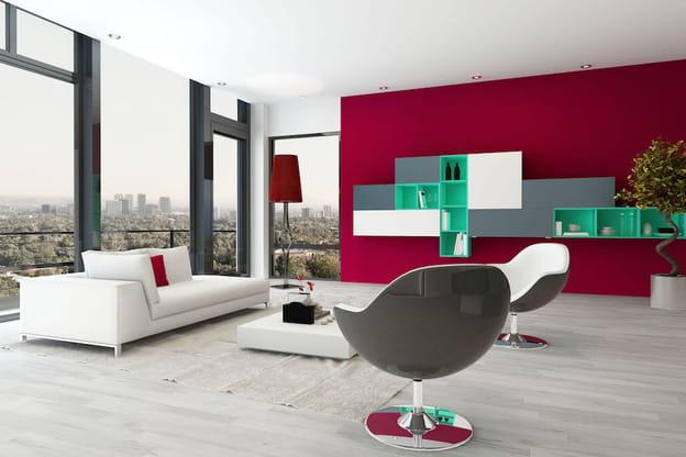 Significato dei colori voce alle pareti del soggiorno for Parete rossa soggiorno