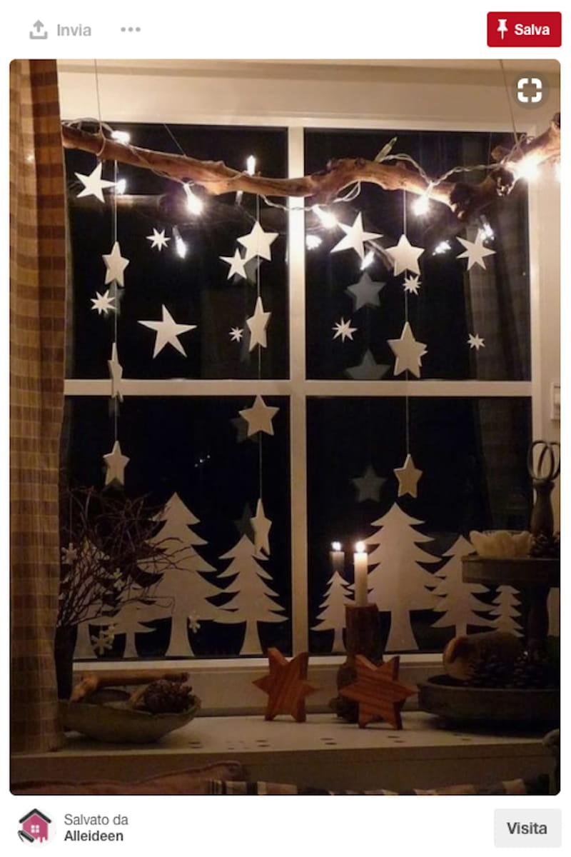 Новогоднее окно. Как украсить окна на Новый год - Адалин 60