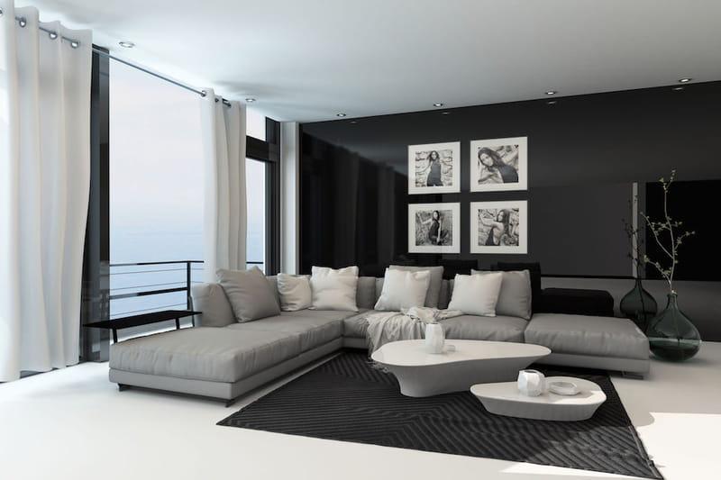 Significato dei colori: voce alle pareti del soggiorno