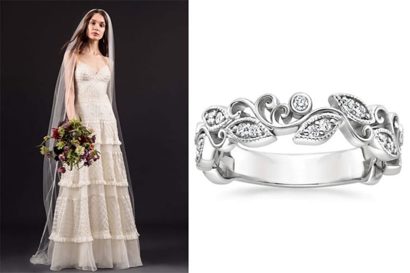صيحات فساتين زفاف