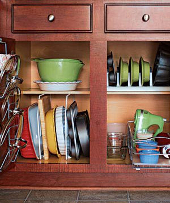 افكار لتنظيم المطبخ في خطوات