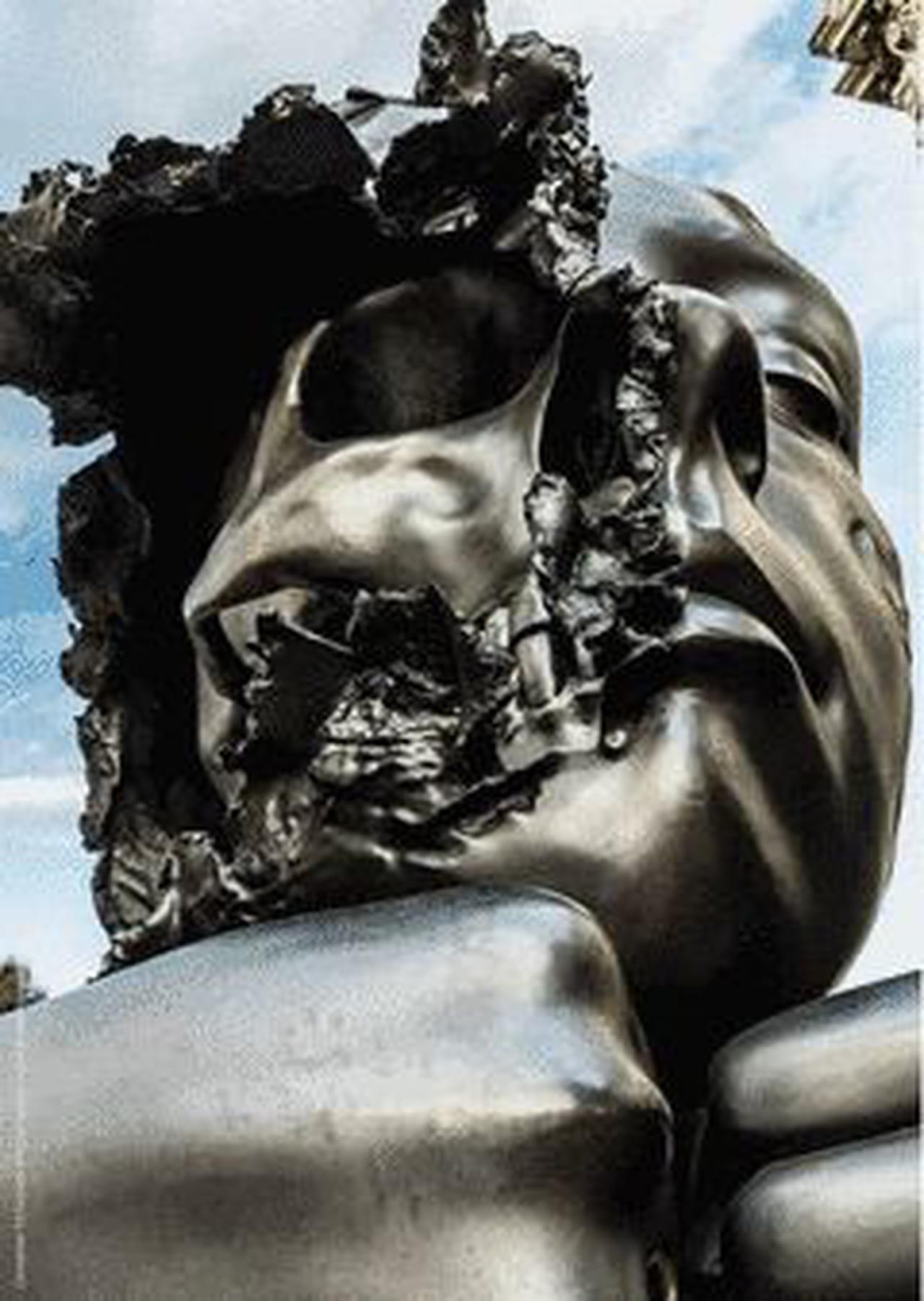 Audacieux L'Allegoria de Philippe Pasqua est à voir au Domaine de Chamarande GN-88