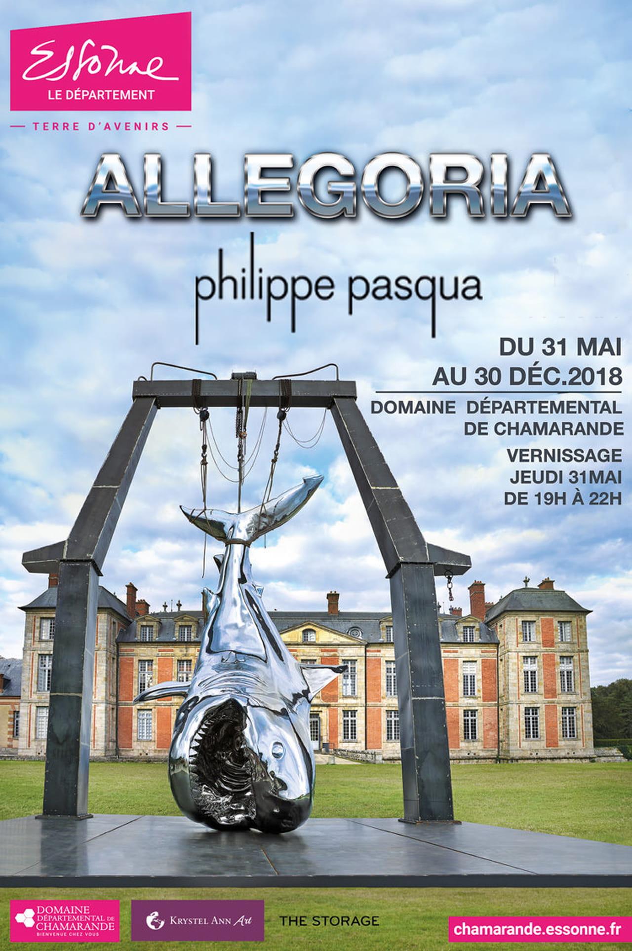 Extremement L'Allegoria de Philippe Pasqua est à voir au Domaine de Chamarande OI-41