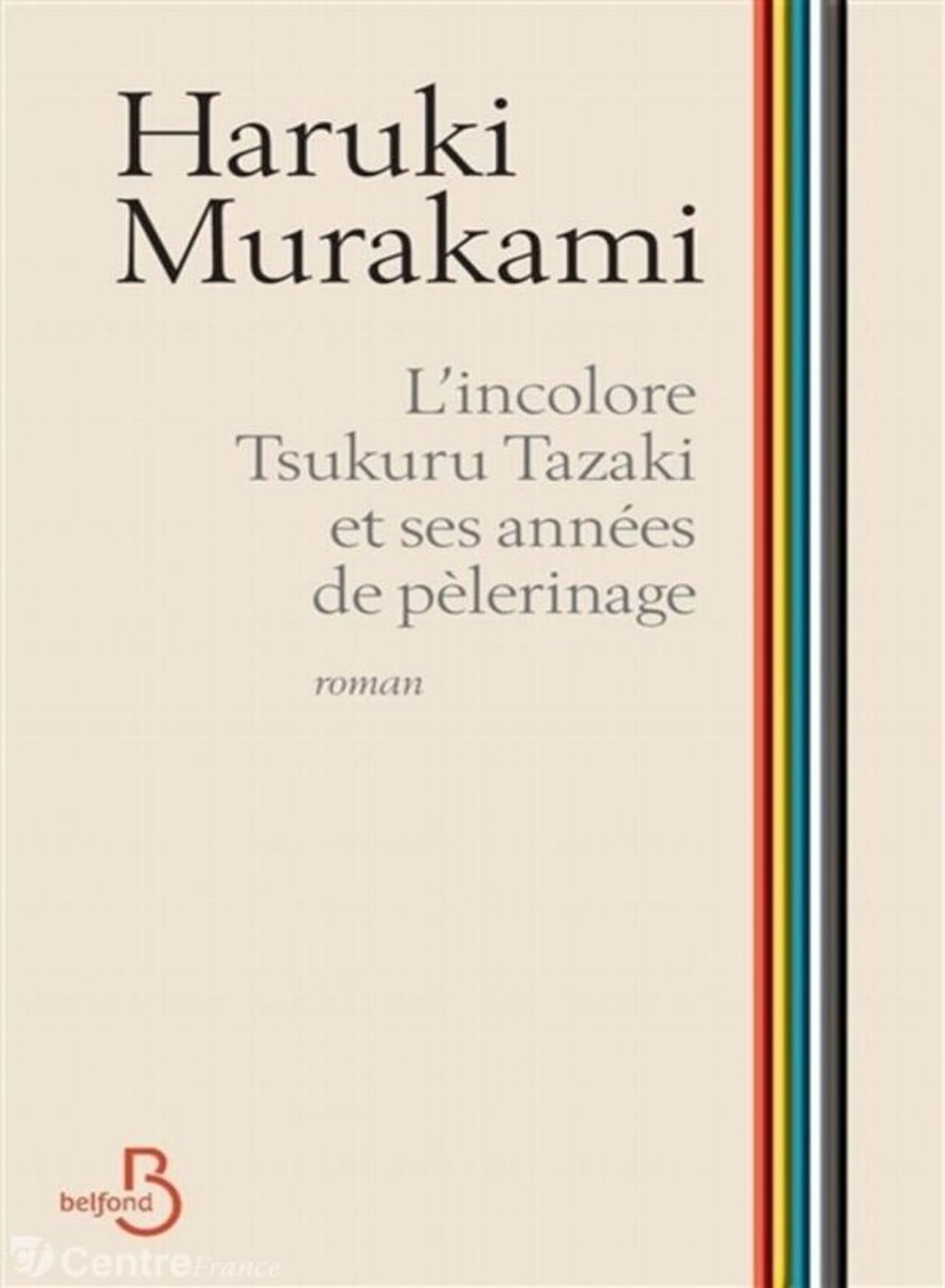 """Résultat de recherche d'images pour """"l'incolore tsukuru tazaki et ses années de pèlerinage"""""""