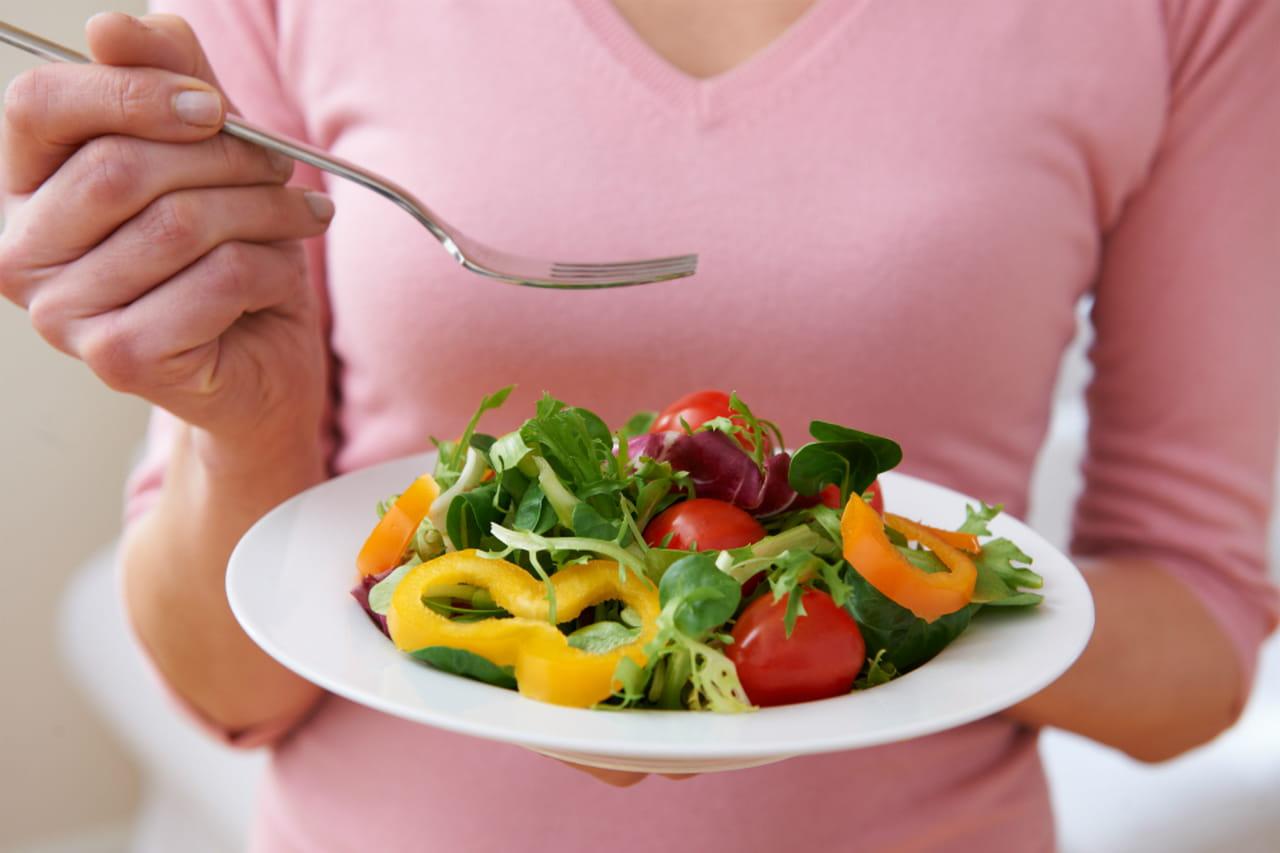 menù dietetico vegetariano dissociato