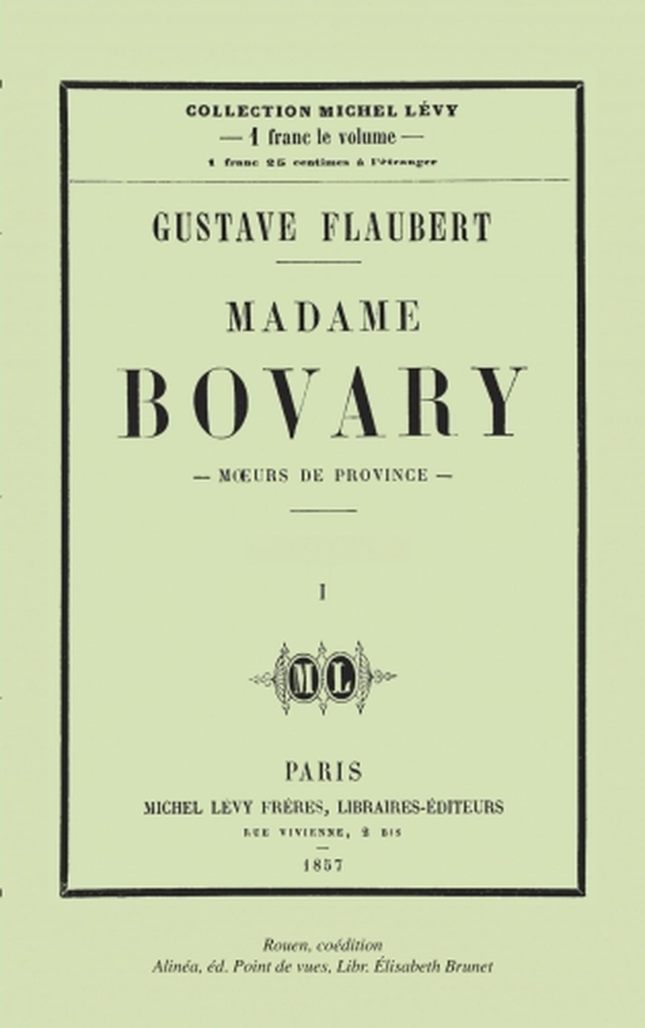 GUSTAVE FLAUBERT MADAME BOVARY ~ 1948