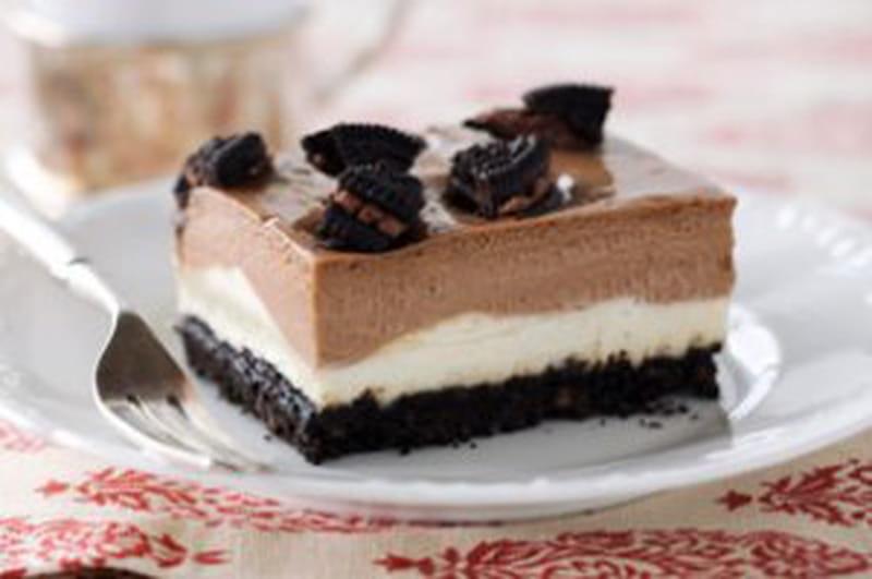 طريقة عمل حلى تشيز كيك الأوريو Oreo Cheesecake